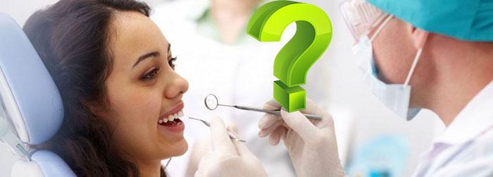 Прием у стоматолога и вопрос