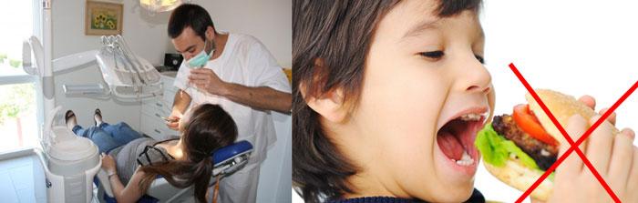 Ребенок под наркозом в стоматологии и отмена еды