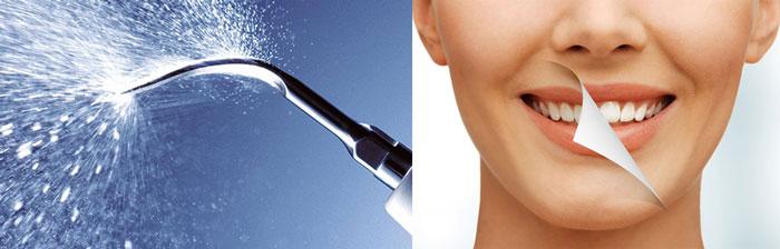 Устройство Air Flow и очистка зубов