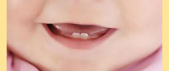 Детская улыбка и рост зубов