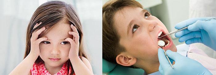 Стресс у ребенка и лечение зубов