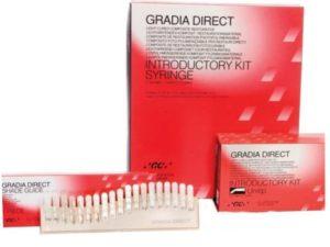 Содержание пломбы «Gradia Direct» придумала корпорация GC